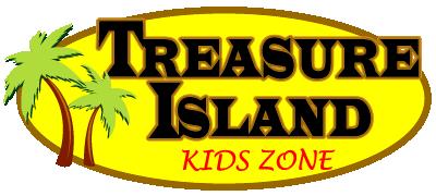 Treasure Island Kids Zone Logo